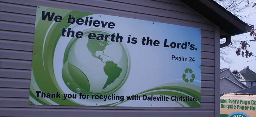 We Believe the Earth is the Lord's